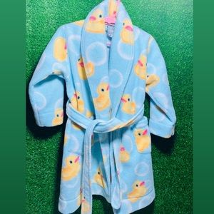 Toddlers Rubber Duckies Robe🐤